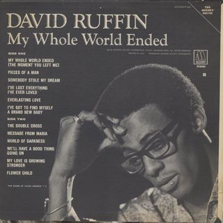 David Ruffin / My Whole World Ended back