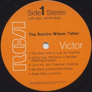 Deirdre Wilson Tabac / S.T. label