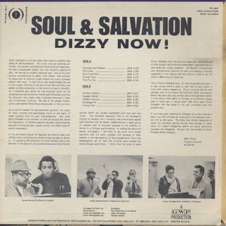 Dizzy Gillespie / Soul & Salvation back