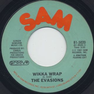 Evasions / Wikka Wrap c/w All Wrapped Up
