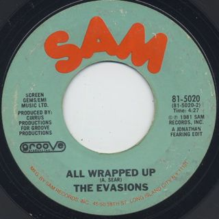 Evasions / Wikka Wrap c/w All Wrapped Up back