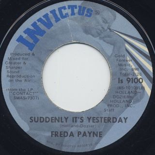 Freda Payne / You Brought The Joy back