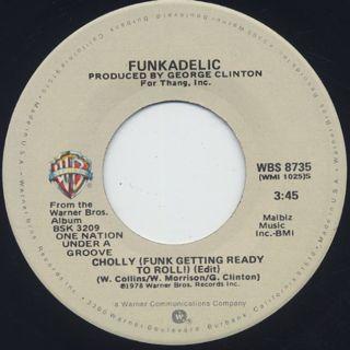 Funkadelic / Cholly (Funk Getting Ready To Roll) c/w Into You