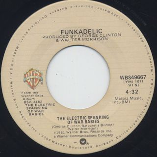 Funkadelic / The Electric Spanking Of War Babies (7