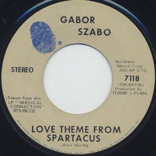 Gabor Szabo / (They Long To Be) Close To You back