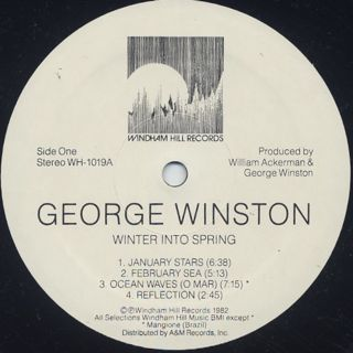 George Winston / Winter Into Spring label