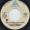 Gil Scott Heron & Brian Jackson / Hello Sunday! Hello Road