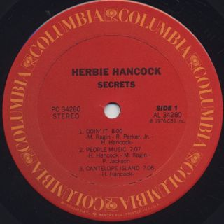 Herbie Hancock / Secret label