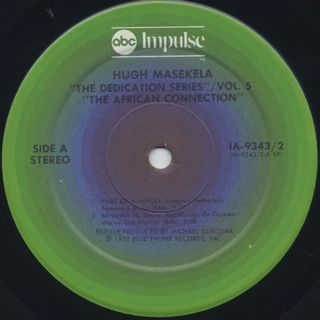Hugh Masekela / The African Connection label