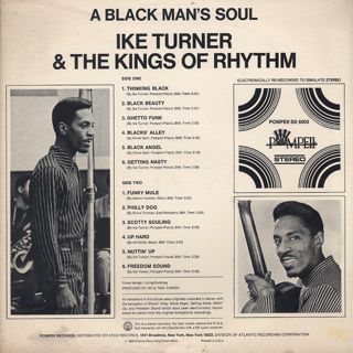 Ike Turner And The Kings Of Rhythm / A Black Man's Soul back