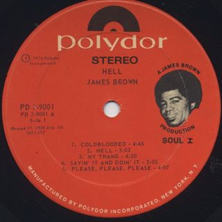 James Brown / Hell label
