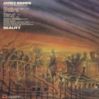 James Brown / Reality back