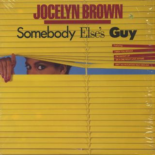 Jocelyn Brown / Somebody Else's Guy
