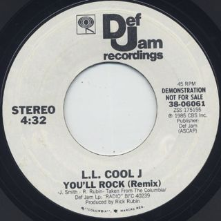 L.L. Cool J / You'll Rock(Remix) front