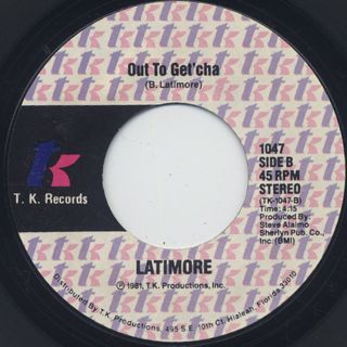 Latimore / Tonight's The Night back