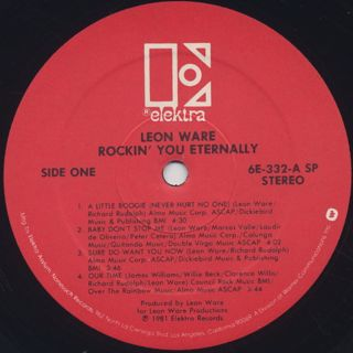 Leon Ware / Rockin' You Eternally label