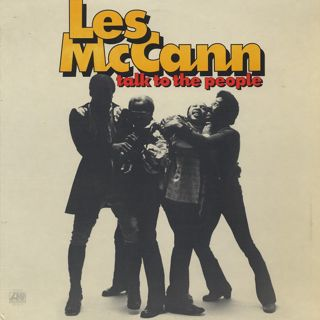 Les McCann / Talk To The People front