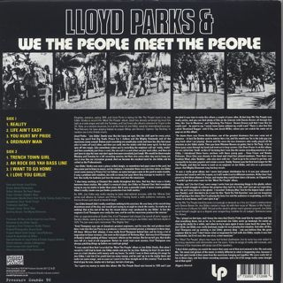 Lloyd Parks & We The People / Meet The People back
