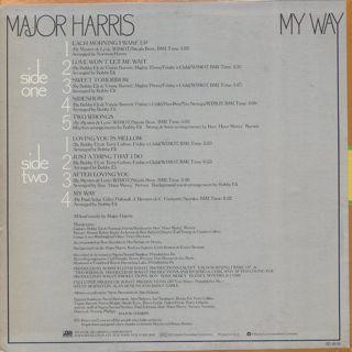 Major Harris / My Way back