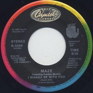 Maze / I Wanna Be With You (7