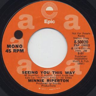 Minnie Riperton / Seeing You This Way back