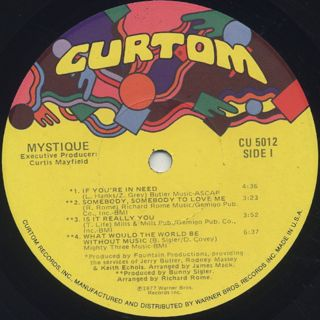 Mystique / S.T. label