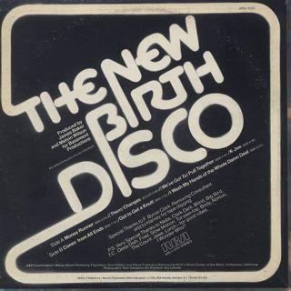 New Birth / New Birth Disco back