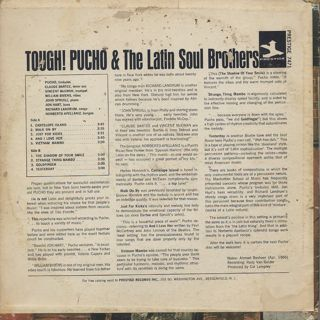 Pucho & The Latin Soul Brothers / Tough! back