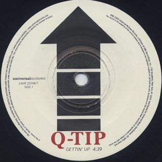 Q-Tip / Gettin' Up c/w Move label