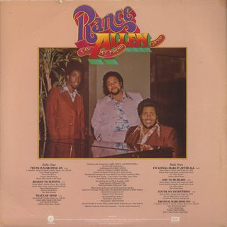 Rance Allen Group / Say My Friend back