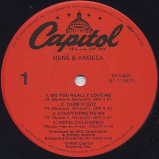 Rene & Angela / S.T. label