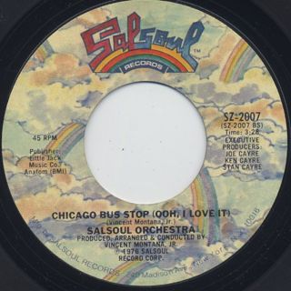 Salsoul Orchestra / You're Just The Right Size back