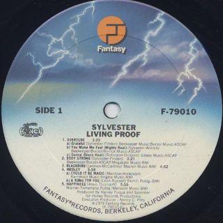 Sylvester / Living Proof label