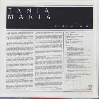 Tania Maria / Come With Me back