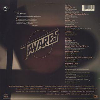 Tavares / Loveline back