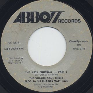 Village Soul Choir / The Sissy Football back