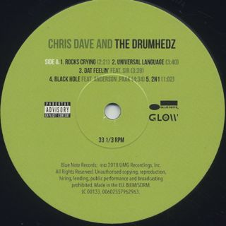 Chris Dave And The Drumhedz / S.T. (2LP) label