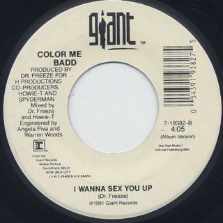 Color Me Badd / I Wanna Sex You Up (7