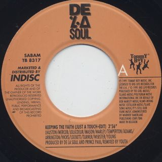 De La Soul / Keepin' The Faith (7
