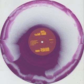 Del The Funky Homosapien & Tame One / Parallel Uni-Verses label