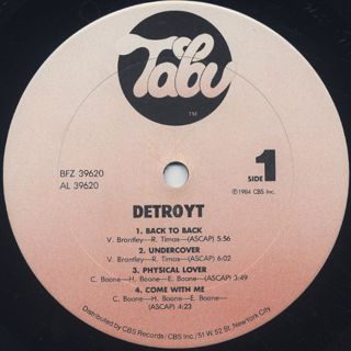 Detroyt / S.T. label