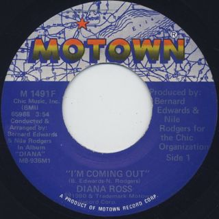 Diana Ross / I'm Coming Out ①