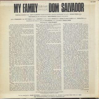 Don Salvador / My Family (Minnha Fannlia) back