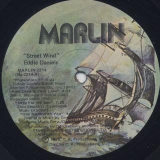 Eddie Daniels / Streetwind label