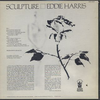 Eddie Harris / Sculpture back