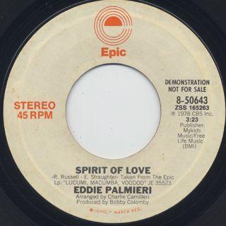 Eddie Palmieri / Spirit Of Love(7