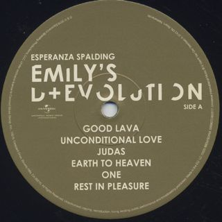 Esperanza Spalding / Emily's D+Evolution label