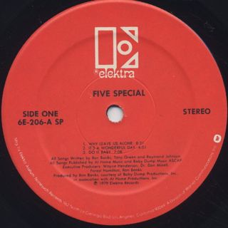Five Special / S.T. label