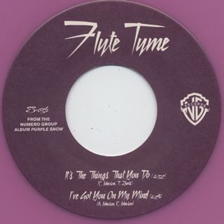 Flyte Tyme / It's The Things That You Do label