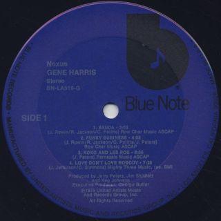 Gene Harris / Nexus label